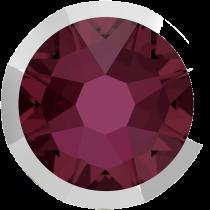 Swarovski Crystal Flatback No Hotfix 2088 I Rimmed Flat Back SS-16  Burgundy Light Chrome (F) -  1440 Pcs