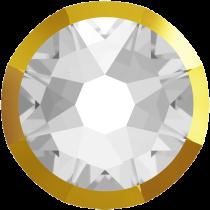 Swarovski Crystal Flatback No Hotfix 2088 I Rimmed Flat Back SS-16  Crystal Dorado (F) -  1440 Pcs
