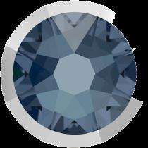 Swarovski Crystal Flatback No Hotfix 2088 I Rimmed Flat Back SS-16  Denim Blue Light Chrome (F) -  1440 Pcs