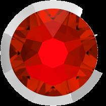 Swarovski Crystal Flatback No Hotfix 2088 I Rimmed Flat Back SS-16  LightSiam Light Chrome (F) -  1440 Pcs