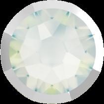 Swarovski Crystal Flatback No Hotfix 2088 I Rimmed Flat Back SS-16  White Opal Light Chrome (F) -  1440 Pcs