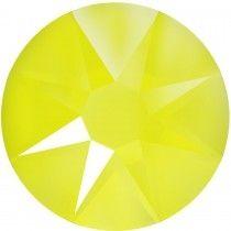 Swarovski  Flatback No Hotfix 2088 SS 16   Electric Yellow