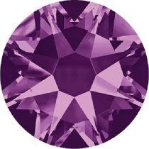 Swarovski Crystal Flatback No Hotfix 2088 SS-30 ( 6.34mm) - Amethyst (F)- 288 Pcs