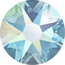 Swarovski Crystal Flatback No Hotfix 2088 SS-12 ( 3.10mm) -ᅠAquamarine AB (F)-  1440 Pcs