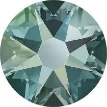 Swarovski Crystal Flatback No Hotfix 2088 SS-12 ( 3.10mm) -ᅠᅠBlack Diamond Shimmer (F)-  1440 Pcs