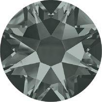 Swarovski  Flatback No Hotfix 2088 SS-34 ( 7.17mm) - Black Diamond (F) - 144 Pcs