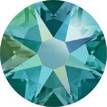 Swarovski Crystal Flatback No Hotfix 2088 SS-12 ( 3.10mm) -ᅠBlue Zircon Shimmer (F)-  1440 Pcs