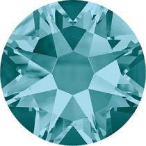 Swarovski Crystal Flatback No Hotfix 2088 SS-30 ( 6.34mm) - Blue Zircon  (F)- 288 Pcs