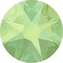 Swarovski Crystal Flatback No Hotfix 2088 SS-30 ( 6.34mm) - Chrysolite Opal (F)- 288 Pcs