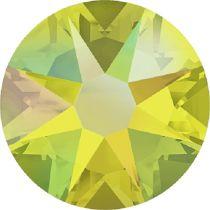 Swarovski Crystal Flatback No Hotfix 2088 SS-12 ( 3.10mm) -ᅠᅠCitrine Shimmer (F)-  1440 Pcs