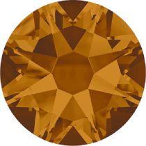 Swarovski Crystal Flatback No Hotfix 2088 SS-34 ( 7.17mm) - Crystal Copper (F) - 144 Pcs