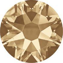 Swarovski Crystal Flatback No Hotfix 2088 SS-34 ( 7.17mm) - Crystal Golden Shadow  (F) - 144 Pcs