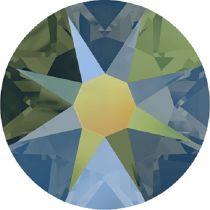 Swarovski Crystal Flatback No Hotfix 2088 SS-34 ( 7.17mm) - ᅠCrystal Iridescent Green (F) - 144 Pcs