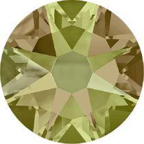 Swarovski Crystal Flatback No Hotfix 2088 SS-34 ( 7.17mm) - Crystal Luminous Green (F) - 144 Pcs