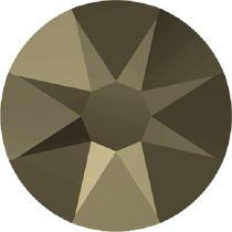 Swarovski Crystal Flatback No Hotfix 2088 SS-34 ( 7.17mm) - ᅠCrystal Metallic Light Gold (F) - 144 Pcs