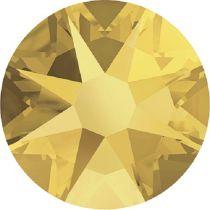Swarovski Crystal Flatback No Hotfix 2088 SS-34 ( 7.17mm) -ᅠCrystal Metallic Sunshine (F) - 144 Pcs