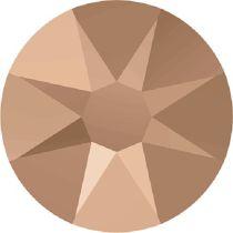 Swarovski Crystal Flatback No Hotfix 2088 SS-34 ( 7.17mm) -ᅠCrystal Rose Gold (F) - 144 Pcs
