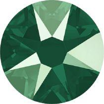 Swarovski Crystal Flatback No Hotfix 2088 SS-12 ( 3.10mm) -ᅠCrystal Royal Green (F)-  1440 Pcs