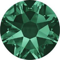 Swarovski  Flatback No Hotfix 2088 SS-20 - Emerald (F)- 1440 Pcs