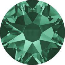 Swarovski Crystal Flatback No Hotfix 2088 SS 14 (3.45 mm) EMERALD F-1440 pcs.