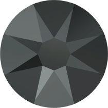 Swarovski Crystal Flatback No Hotfix 2088 SS-30 ( 6.34mm) - ᅠJet Hematite - 288 Pcs
