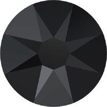 Swarovski Crystal Flatback No Hotfix 2088 SS-12 ( 3.10mm) - Jet (F)- 1440  Pcs