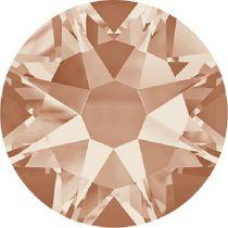 Swarovski Crystal Flatback No Hotfix 2088 SS-34 ( 7.17mm) - ᅠLight Peach (F) - 144 Pcs