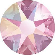 Swarovski Crystal Flatback No Hotfix 2088 SS-30 ( 6.34mm) - Light Rose Aurore Boreale (F)- 288 Pcs