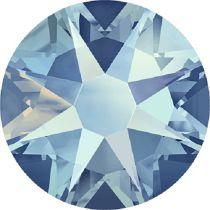 Swarovski Crystal Flatback No Hotfix 2088 SS-30 ( 6.34mm) - Light Sapphire Shimmer  (F)- 288 Pcs