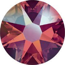 Swarovski Crystal Flatback No Hotfix 2088 SS-30 ( 6.34mm) - ᅠLight Siam Shimmer  (F)- 288 Pcs