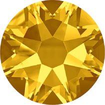 Swarovski Crystal Flatback No Hotfix 2088 SS-34 ( 7.17mm) - ᅠLight Topaz (F) - 144 Pcs