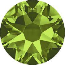 Swarovski Crystal Flatback No Hotfix 2088 SS-30 ( 6.34mm) - Olivine (F)- 288 Pcs