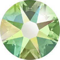 Swarovski Crystal Flatback No Hotfix 2088 SS-30 ( 6.34mm) - ᅠPeridot Aurore Boreale (F)- 288 Pcs