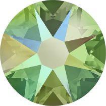 Swarovski Crystal Flatback No Hotfix 2088 SS-30 ( 6.34mm) - ᅠPeridot Shimmer (F)- 288 Pcs