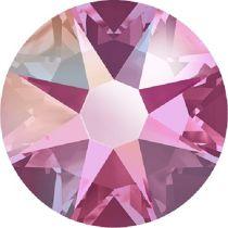 Swarovski Crystal Flatback No Hotfix 2088 SS-30 ( 6.34mm) - Rose Aurore Boreale (F)- 288 Pcs