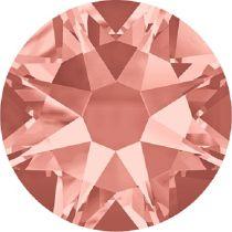 Swarovski Crystal Flatback No Hotfix 2088 SS-30 ( 6.34mm) - ᅠRose Peach (F)- 288 Pcs