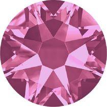 Swarovski Crystal Flatback No Hotfix 2088 SS-30 ( 6.34mm) - Rose (F)- 288 Pcs