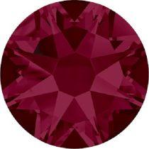 Swarovski Crystal Flatback No Hotfix 2088 SS-12 ( 3.10mm) -ᅠᅠRuby (F)-  1440 Pcs
