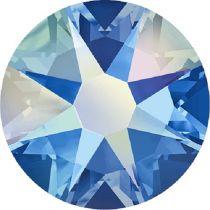 Swarovski Crystal Flatback No Hotfix 2088 SS-30 ( 6.34mm) - Sapphire Aurore Boreale (F)- 288 Pcs