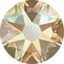 Swarovski Crystal Flatback No Hotfix 2088 SS-30 ( 6.34mm) - Silk Shimmer (F)- 288 Pcs