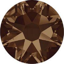 Swarovski Crystal Flatback No Hotfix 2088 SS-34 ( 7.17mm) - Smoked Topaz (F) - 144 Pcs