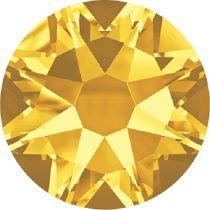 Swarovski Crystal Flatback No Hotfix 2088 SS-30 ( 6.34mm) - ᅠSunflower (F)- 288 Pcs