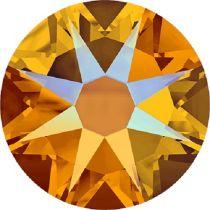 Swarovski Crystal Flatback No Hotfix 2088 SS-30 ( 6.34mm) - Tangerine Shimmer  (F)- 288 Pcs