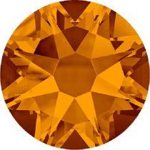 Swarovski Crystal Flatback No Hotfix 2088 SS-34 ( 7.17mm) - Tangerine (F) - 144 Pcs