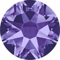 Swarovski Crystal Flatback No Hotfix 2088 SS-34 ( 7.17mm) - Tanzanite (F) - 144 Pcs