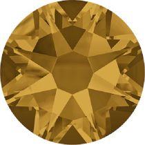 Swarovski Crystal Flatback No Hotfix 2088 SS-12 ( 3.10mm) -ᅠTopaz (F)-  1440 Pcs
