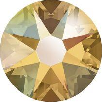Swarovski Crystal Flatback No Hotfix 2088 SS-30 ( 6.34mm) - Topaz Aurore Boreale (F)- 288 Pcs