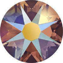 Swarovski Crystal Flatback No Hotfix 2088 SS-30 ( 6.34mm) - Topaz Shimme (F)- 288 Pcs