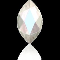 Swarovski Crystal Flatback Hotfix 2201 Marquise Flat Back (14.00x6.00mm) - Crystal Aurore Boreale (F) -  72 Pcs