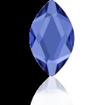 Swarovski Crystal Flatback Hotfix 2201 Marquise Flat Back (14.00x6.00mm) - Sapphire (F) -  72 Pcs